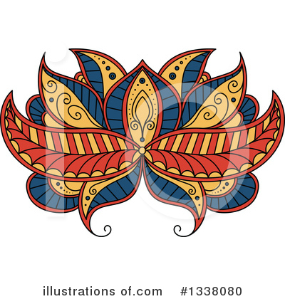 Lotus Clipart #1338080 by Vector Tradition SM