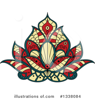 Lotus Clipart #1338084 by Vector Tradition SM