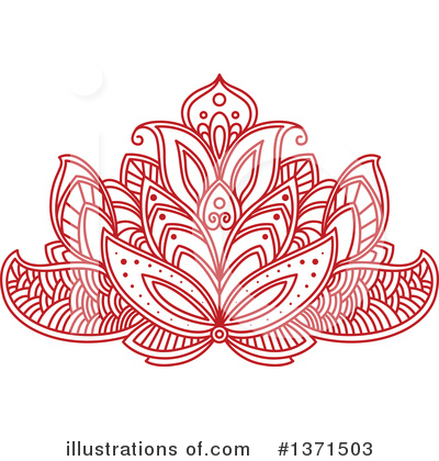 Lotus Clipart #1371503 by Vector Tradition SM