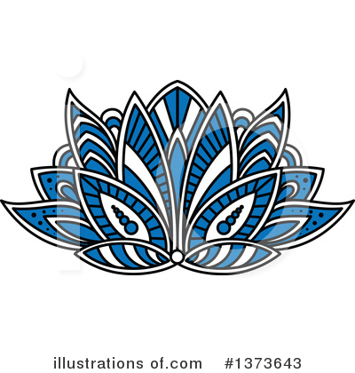 Lotus Clipart #1373643 by Vector Tradition SM