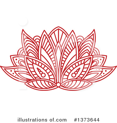 Lotus Clipart #1373644 by Vector Tradition SM