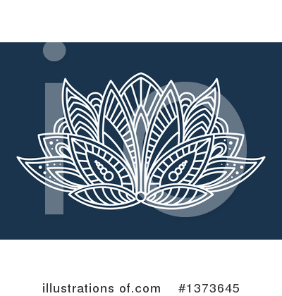 Lotus Clipart #1373645 by Vector Tradition SM