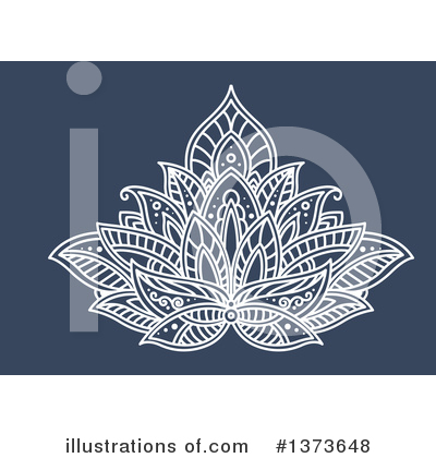 Lotus Clipart #1373648 by Vector Tradition SM