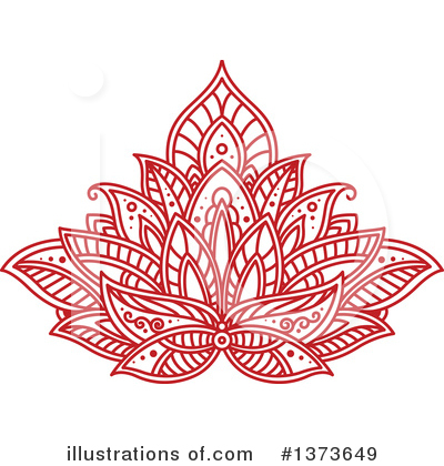Lotus Clipart #1373649 by Vector Tradition SM