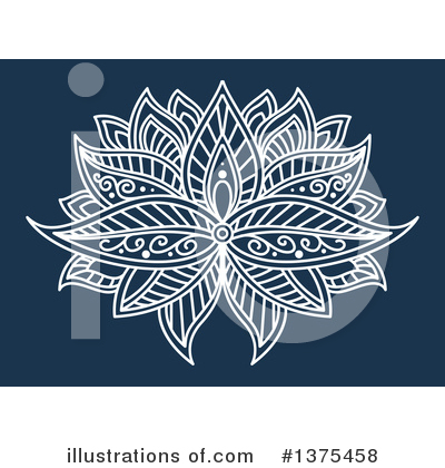 Lotus Clipart #1375458 by Vector Tradition SM