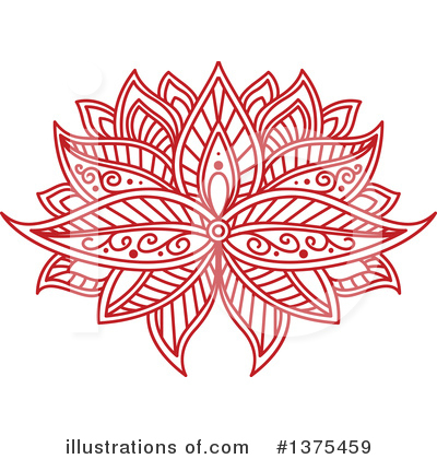 Lotus Clipart #1375459 by Vector Tradition SM