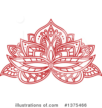 Lotus Clipart #1375466 by Vector Tradition SM