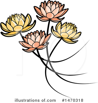 Lotus Clipart #1470318 by Lal Perera