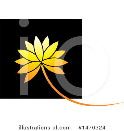 Lotus Clipart #1470324 by Lal Perera