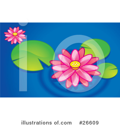 Lotus Flower Clipart #26609 by NoahsKnight