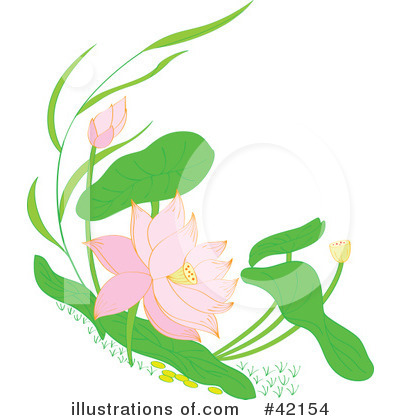Floral Clipart #42154 by Cherie Reve