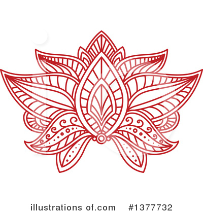 Lotus Clipart #1377732 by Vector Tradition SM