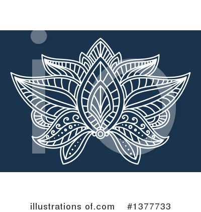 Lotus Clipart #1377733 by Vector Tradition SM