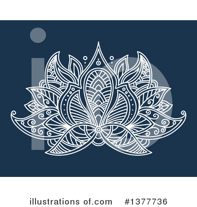 Lotus Clipart #1377736 by Vector Tradition SM