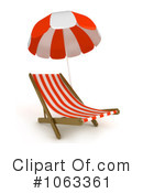 Lounge Chair Clipart #1063361 by BNP Design Studio
