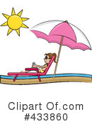 Lounge Chair Clipart #433860 by Pams Clipart