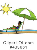 Lounge Chair Clipart #433861 by Pams Clipart