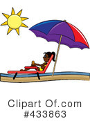 Lounge Chair Clipart #433863 by Pams Clipart