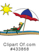 Lounge Chair Clipart #433868 by Pams Clipart