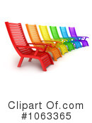 Lounge Chairs Clipart #1063365 by BNP Design Studio