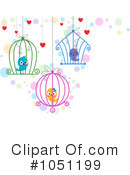 Royalty-Free (RF) Love Birds Clipart Illustration #1051199