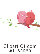 Royalty-Free (RF) Love Birds Clipart Illustration #1163269