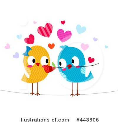 Royalty-Free (RF) Love Birds Clipart Illustration by BNP Design Studio ...