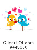 Love Birds Clipart #443806 by BNP Design Studio