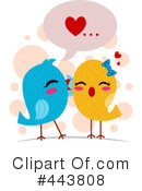 Love Birds Clipart #443808 by BNP Design Studio
