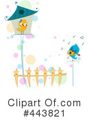 Royalty-Free (RF) Love Birds Clipart Illustration #443821