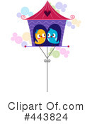 Royalty-Free (RF) Love Birds Clipart Illustration #443824