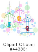 Royalty-Free (RF) Love Birds Clipart Illustration #443831