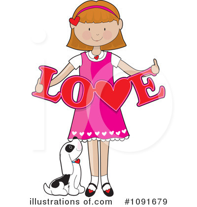 Heart Clipart #1091679 by Maria Bell
