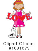Love Clipart #1091679 by Maria Bell