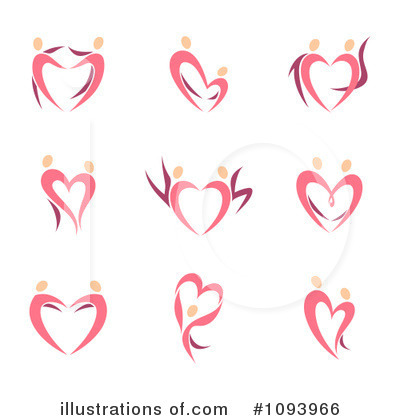 Heart Clipart #1093966 by elena