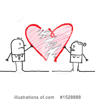 Royalty-Free (RF) Love Clipart Illustration by NL shop - Stock Sample #1528888