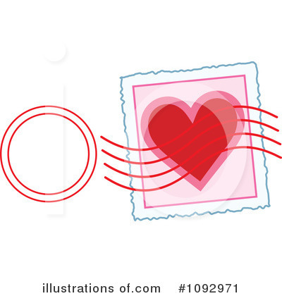 Stamps Clipart #1092971 by Maria Bell