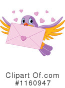 Royalty-Free (RF) love letter Clipart Illustration #1160947