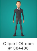Low Poly Business Man Clipart #1384408