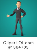 Low Poly Businessman Clipart #1384703 by Julos