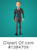 Low Poly Businessman Clipart #1384709 by Julos
