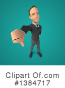 Low Poly Businessman Clipart #1384717 by Julos