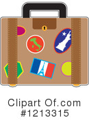 Luggage Clipart #1213315 by Maria Bell