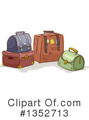 Luggage Clipart #1352713 by BNP Design Studio