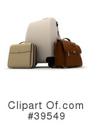Royalty-Free (RF) luggage Clipart Illustration #39549