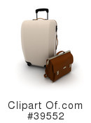 Luggage Clipart #39552