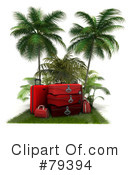 Luggage Clipart #79394 by Frank Boston