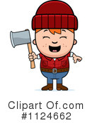 Royalty-Free (RF) lumberjack Clipart Illustration #1124662