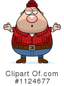 Lumberjack Clipart #1124677 by Cory Thoman
