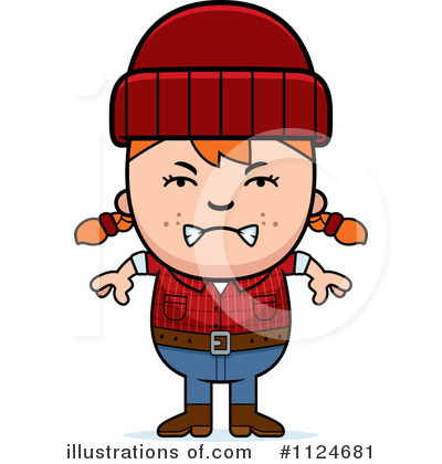Lumberjack Clipart #1124681 by Cory Thoman